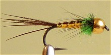 Нахлыст мушки - нимфы Владимир Косторной Pheasant Tail Gold Head  1-05/14